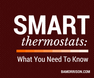 Smart Thermostats HVAC
