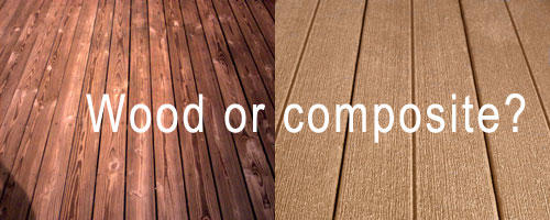 Decking materials decking material pros cons for Composite decking pros and cons